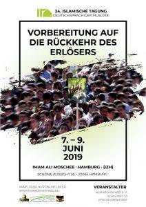 Bild: Poster Islamische Tagung 2918